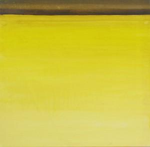 Horizont, H22, 1998, Öl auf Leinwand, 70x70cm