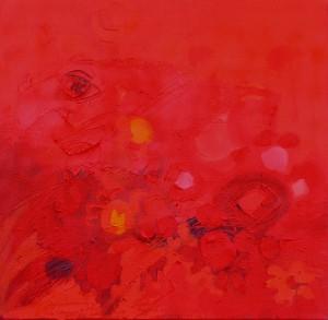 Kinderblume, 2, 2006, Öl auf Leinwand, 65x65cm
