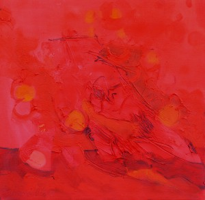 Kinderblume, 3, 2006, Öl auf Leinwand, 65x65cm