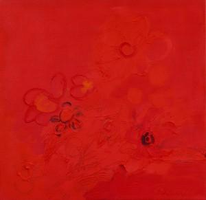 Kinderblume, 4, 2006, Öl auf Leinwand, 65x65cm